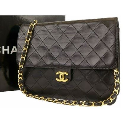 Image of Chanel 2.55 small classic timeless flap bag