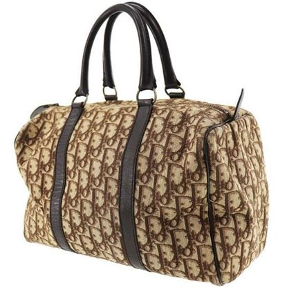 Image of christian dior boston handbag
