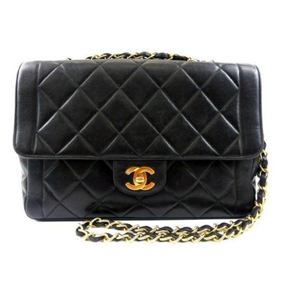 Image of Chanel timeless classic flap crossbody bag