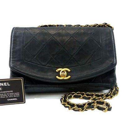 Image of Chanel Diana crossbody bag