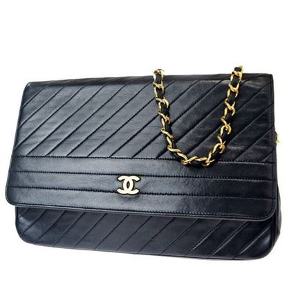 Image of Chanel chevron medium classic flap bag
