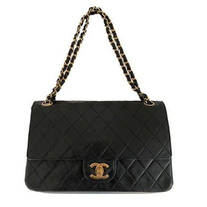 Image of Chanel 2.55 medium classic timeless double flap bag