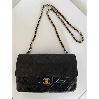 Image of Chanel 2.55 classic timeless crossbody bag