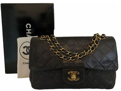 Image of Chanel 2.55 classic timeless double flap bag