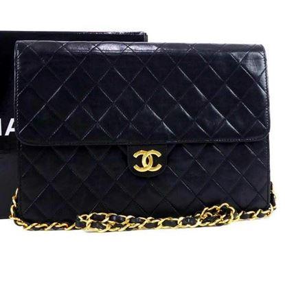 Image of Chanel 2.55 medium classic flap bag